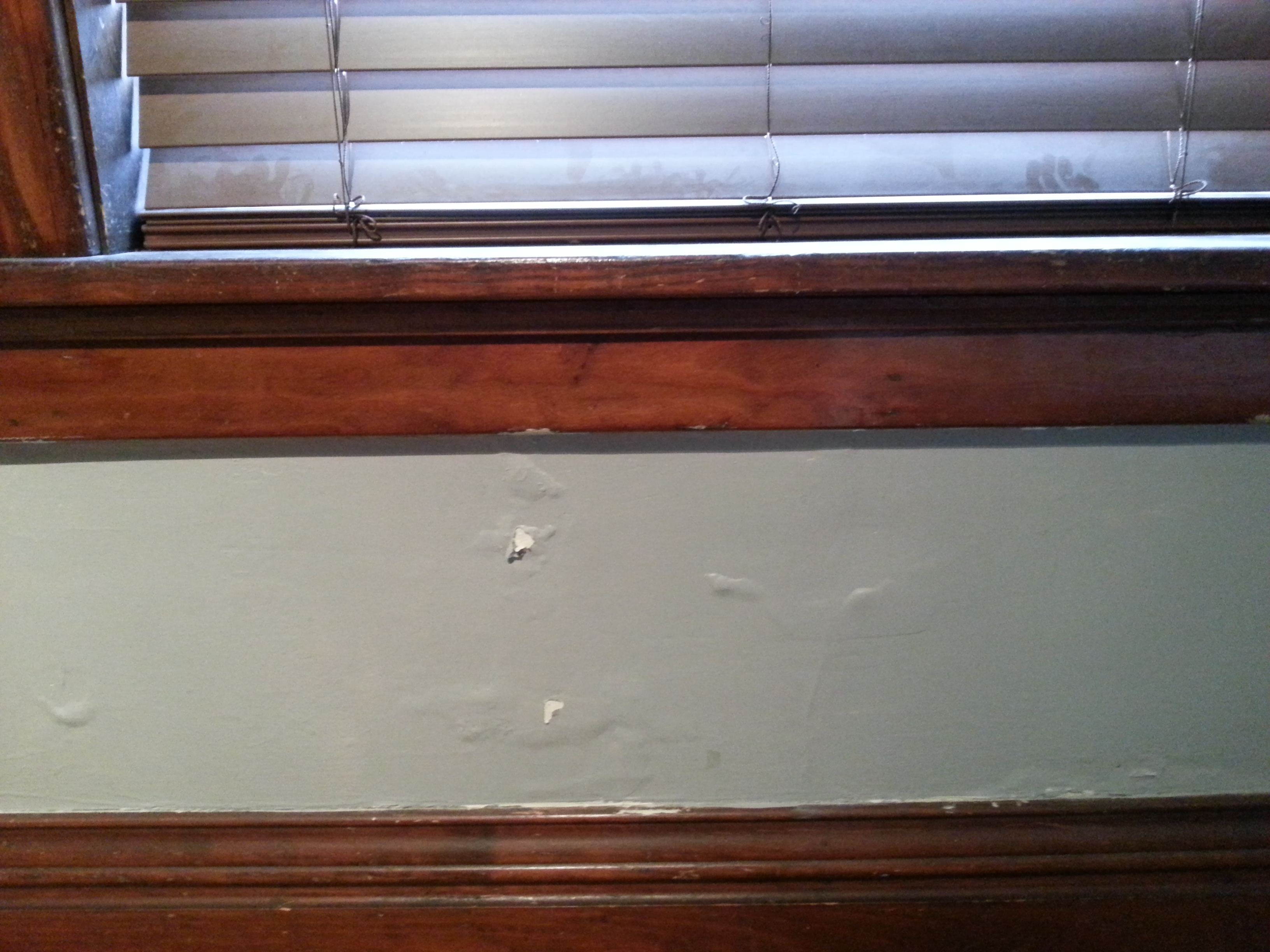how to fix bubbling paint from water damage