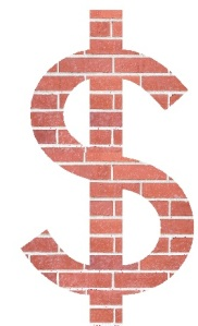 Brick Usd Sollar sign