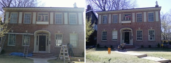 Maintain your brick home with tuckpointing and applying a waterproofer regularly