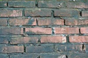 A brick wall in need of tuckpointing