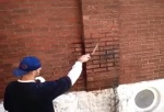 Rinsing the wall