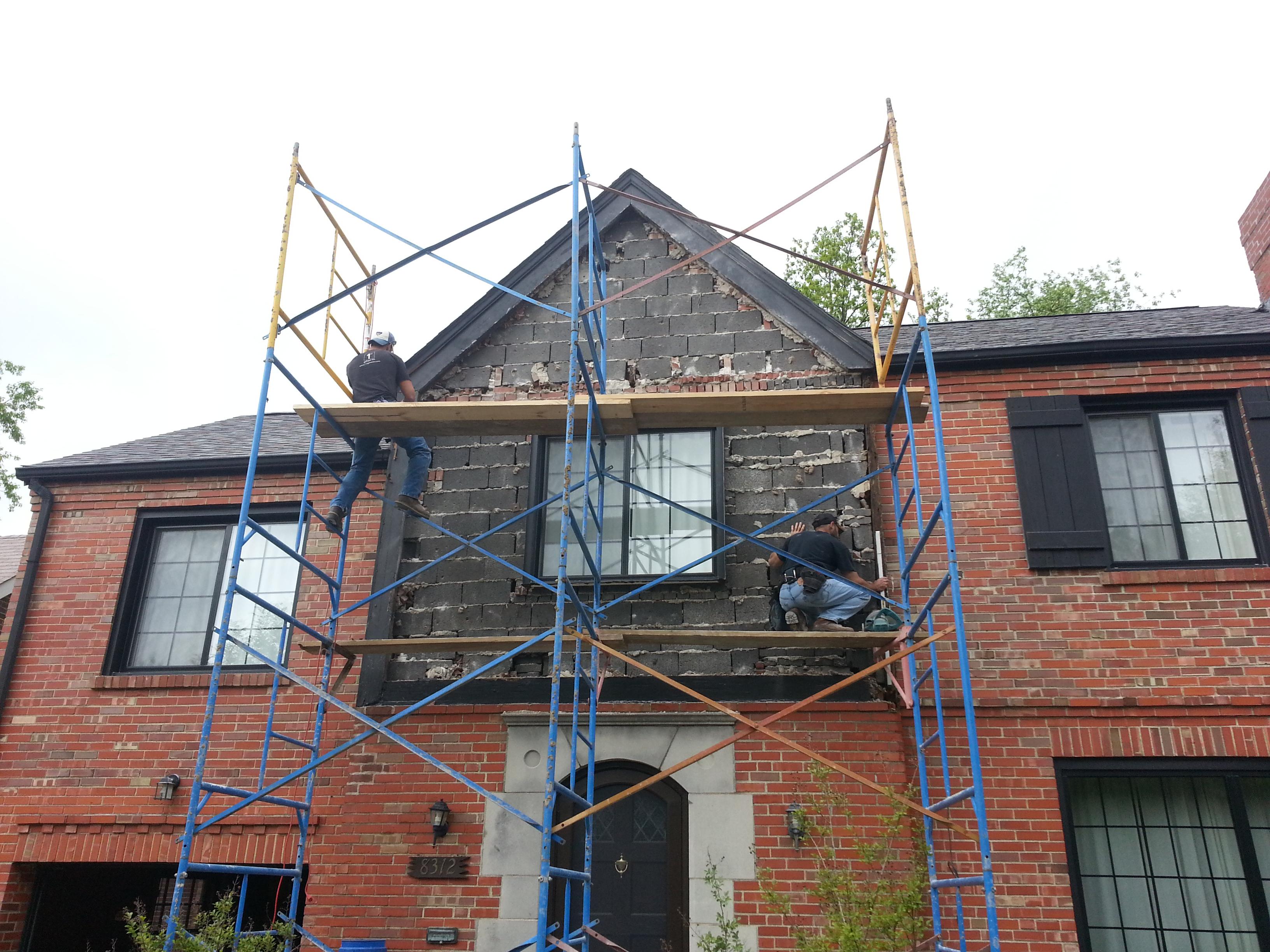 Brick Laying Atek Masonry