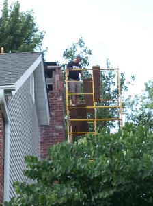 Chimney rebuild progress4