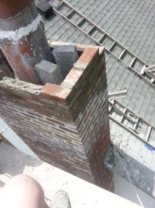 Chimney rebuild progress3