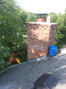Chimney rebuild completion2