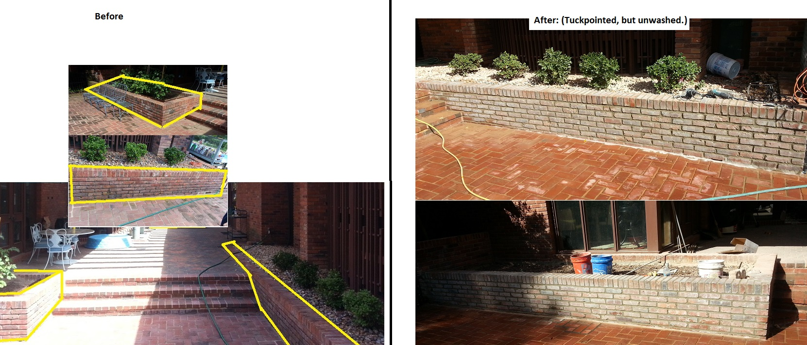 Easy Tuck Point Using a Masonry Grout Bag | Doovi |Tuck Point Mortar Retaining Wall