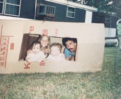Mike & Twins (Jacob & Cassie) 1986